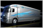 Hyundai teases new fuel cell electric truck