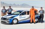 2019 Bonneville Jetta breaks land speed record