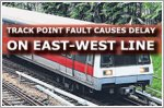 East-West Line hit by delay due to track point fault at Clementi