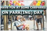 Have fun at some carparks on PARK(ing) Day