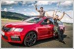 Skoda sets new Guinness World Record