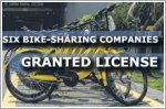 Six companies granted licences to operate bike-sharing services in Singapore