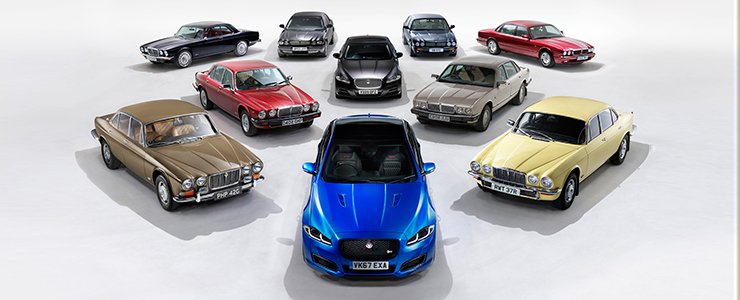 Historic Jaguar XJ Convoy Heads To The Paris Motor Show - Goodwood hardware car show