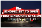 Sinopec gets ready to open its first Singapore fuel station in Yishun