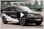 Self-driving Range Rover Sport runs round Coventry