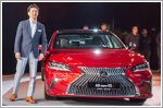 Lexus unveils all new ES luxury sedan in Singapore