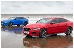 Jaguar XE 300 Sport and XE SV Project 8 create unique sand art