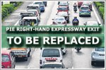 Singapore's sole right-hand expressway exit to be replaced