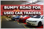 Bumpy road for used car traders