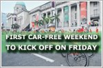 First Car-Free Weekend to kick off on Friday
