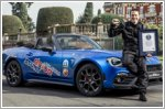 Abarth celebrates new Guinness World Record with 124 Spider
