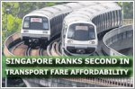 Singapore ranks second in transport fare affordability