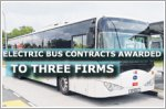 Contracts worth $50 million for 60 electric buses awarded to three firms