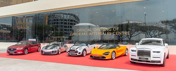 Eurokars Opens New Aftersales Centre At Tanjong Penjuru
