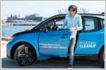 BMW i3 aids in The Ocean Cleanup
