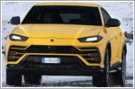 Lamborghini Urus explores Iceland