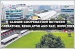 Closer cooperation from operators, regulator and rail suppliers