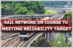 Rail network on course to meeting reliability target