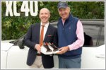 Volvo and Stan Smith helped raise more than $10,000 for kids