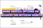 More service options for vehicle owners on revamped One.Motoring website