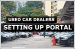 Used car dealers setting up portal