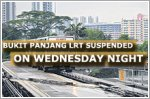 Bukit Panjang LRT services suspended on Wednesday night due to power fault