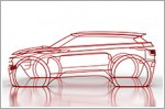 New Range Rover Evoque teased ahead of debut