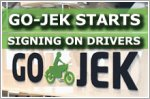 Indonesian ride-hailing firm Go-Jek starts signing on drivers
