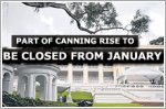 Part of Canning Rise road to be closed from January