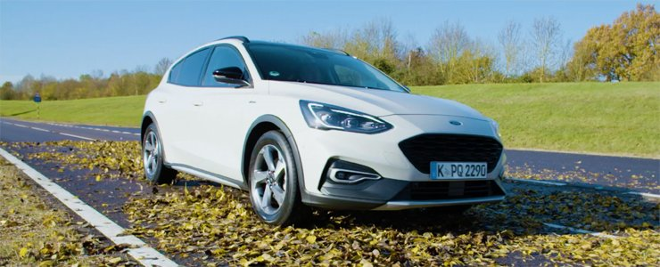 Ford Introduces The Focus Active Crossover