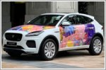Jaguar paints the streets of Singapore with Evan Woodruffe