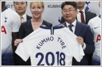 Kumho continues partnership with Tottenham Hotspur