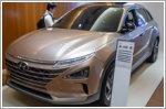 Hyundai showcases Nexo hydrogen fuel cell vehicle in Singapore