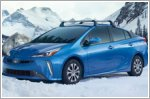 The new Prius with its AWD-e system
