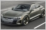 The debut of the Audi e-tron GT concept