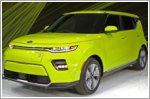 All new Kia Soul EV electrifies with its debut