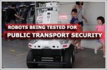 Robots being tested for use for public transport security