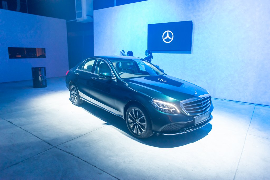 Mercedes-Benz unveils the latest edition of the C-Class in Singapore