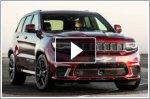 Jeep Grand Cherokee Trackhawk enters drag race