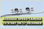 Average Speed Camera system along Tanah Merah Coast Road to start on 17 December