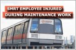 SMRT employee injured during maintenance work at Joo Koon MRT station