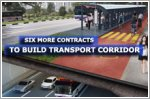 Six more contracts to build transport corridor