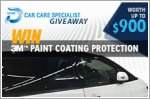 3M Paint Protection Car Treatment worth $900 to be won