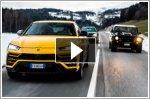 Lamborghini celebrates Christmas with a drive