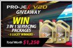 3 in 1 servicing packages worth up to $1,250 to be won