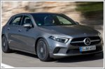Mercedes-Benz A-Class receives Euro NCAP award