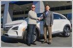 Hyundai delivers first Nexo in California