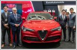 New Alfa Romeo Stelvio Quadrifoglio showcased
