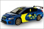 Subaru reveals new blue and gold racing livery