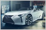 Lexus LC Convertible makes world debut in Detroit